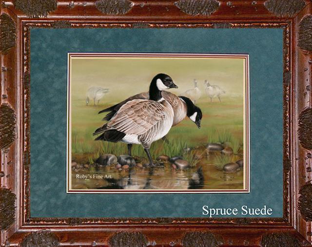 Pastel Aleutian Goose Painting California Duck Stamp
